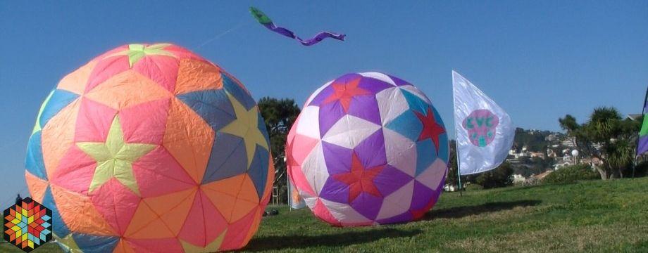 Gros ballon 2M de hauteur
